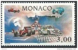 "Monaco YT 2084 "" Automobile Club "" 1996 Neuf** - Unused Stamps"