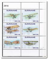 Suriname 2016, Postfris MNH, Airplane - Suriname