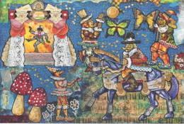 Pinocchio Di Domenico Amato Parco Collodi 02 Cavallo Farfalla -Butterfly - Horse - Papillon - Cheval - Fiabe, Racconti Popolari & Leggende
