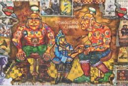 Pinocchio Di Domenico Amato Parco Collodi 03 Prigione Tatuaggi - Tatouages - Tattoos - Fiabe, Racconti Popolari & Leggende