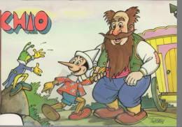 Pinocchio Il Mangiafuoco E Grillo Parlante - Cricket - - Fiabe, Racconti Popolari & Leggende