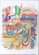 Pinocchio E I Carabinieri Grillo Tricolore 8/13 - Fiabe, Racconti Popolari & Leggende