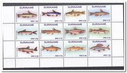 Suriname 2017, Postfris MNH, Fish - Suriname