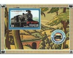 Ref. 179637 * MNH * - ST.VINCENT. BEQUIA. St. Vincent And The Grenadines. 2004. LOCOMOTIVE . LOCOMOTORA - Automobili