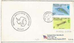 BAT BRITISH TERRITORY CC ANTARTIDA ANTARCTIC SIGNY ISLAND SELLOS FAUNA KRILL - Faune Antarctique