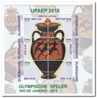 Suriname 2016, Postfris MNH, Olympic Games - Suriname