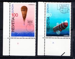 SUISSE 1994.  EUROPA CEPT .NUEVOS SIN CHARNELA , YVERT Nº 1453/54  SES72GRANDE - Suiza