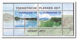 Suriname 2017, Postfris MNH, UPAEP, Tourism - Suriname