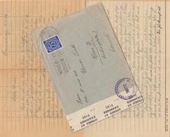 D - Alliierte Bes. 1946 - 75 Pfg Auf Zensurbrief Mit Inhalt Gel.v.Braunschweig > Wien III - Deutschland