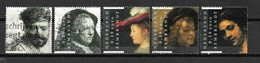 2006 Netherlands Complete Set Rembrandt Art,kunst Used/gebruikt/oblitere - Periode 1980-... (Beatrix)