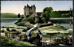 Barrage De Bord-les-Orgues Château Forteresse De Val Dans Le Lac Du Barrage - Michel 713 - Voir 2 Scans - Other Municipalities