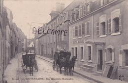 23-La SOUTERRAINE-Rue HAYCINTHE-MONTAUDON- HÔTEL Du LION D'OR-2 ATTELAGES-Ecrite Le 17 Février 1916 - La Souterraine