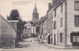 23-La SOUTERRAINE- Rue De L'USINE à GAZ-Ecrite BRIDIERS 3 Février 1915 - La Souterraine