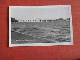 RPPC   By Dotson--- Bridge At Florence    Oregon    Ref 3050 - Estados Unidos