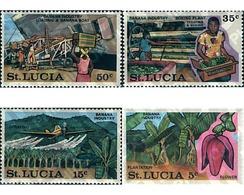 Ref. 93268 * MNH * - ST. LUCIA. 1973. PLANE TREE INDUSTRY . INDUSTRIA DEL PLATANO - St.Lucia (...-1978)