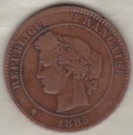 10 Centimes Cérès 1885 A Paris - D. 10 Centimes