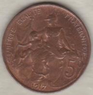 5 Centimes Dupuis 1917 - France