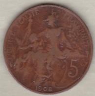 5 Centimes Dupuis 1908 - France