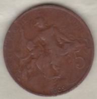 5 Centimes Dupuis 1902 - France