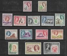 Southern Rhodesia,1953 Defintive Set 1/2d - £1, MNH ** - Southern Rhodesia (...-1964)