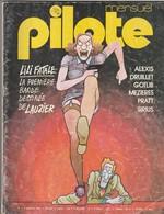 Rare Revue Mensuel Pilote N°4 Septembre 1974 - Pilote