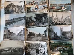 ENVIRON 500 CARTES POSTALES SEMI MODERNES PETIT FORMAT DE FRANCE -DROUILLE - BON ETAT - 500 Postcards Min.