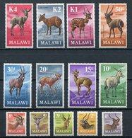 1971 - MALAWI - FAUNA -13 VAL  -   M.N.H.-LUXE ! - Malawi (1964-...)