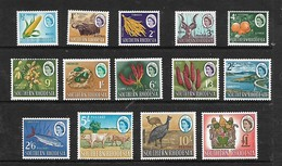 Southern Rhodesia,1964 Defintive Set 1/2d - £1, MNH ** - Southern Rhodesia (...-1964)