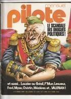 Rare Revue Mensuel Pilote N°14 Juillet 1975 - Pilote
