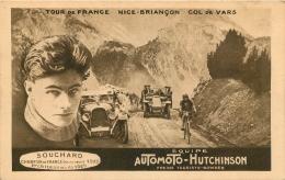 CYCLISME  SOUCHARD TOUR DE FRANCE NICE BRIANCON COL DE VARS EQUIPE AUTOMOTO HUTCHINSON - Cycling
