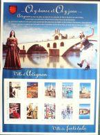 COLLECTOR 2013 FETE Du FESTIVAL AVIGNON-BLOC De 10 TIMBRES NEUFS Sous BLISTER - Prints & Engravings