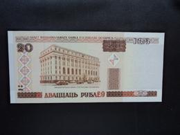 BIÉLORUSSIE : 20 RUBLEI   2000   P 24     NEUF - Belarus