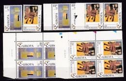 1993 Belgio Belgium EUROPA CEPT EUROPE 7 Serie Di 2v. MNH** - 1993