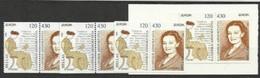 1996 Grecia Greece EUROPA CEPT EUROPE 4 Serie Di 2v. MNH** (coppie Da Libretto) - Europa-CEPT