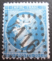 LOT R1494/161 - NAPOLEON III N°22 - GC 4116 : VAUGIRARD (Seine / Paris) INDICE 3 - 1862 Napoleon III