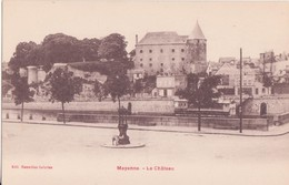 CPA - Mayenne - Le Château - Mayenne