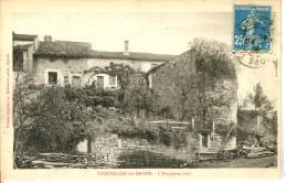 Dpt 88 Chatillon Sur Saone L'Ancienne Tour  1922 EVT BE - Autres Communes