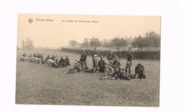 Armée Belge.Une Section De Mitrailleuses Maxim. - Weltkrieg 1914-18