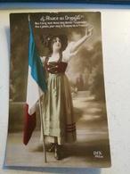 GUERRE 14-18 - L ALSACE AU DRAPEAU DIX 145/4 - Patriotic