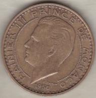 MONACO. 50 FRANCS 1950 . RAINIER III - 1949-1956 Anciens Francs