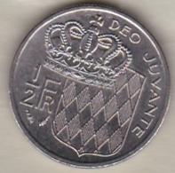 MONACO . 1/2 FRANC 1977  RAINIER III - 1960-2001 Nouveaux Francs
