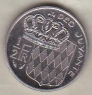 MONACO . 1/2 FRANC 1982  RAINIER III - 1960-2001 Nouveaux Francs