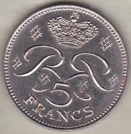 MONACO . 5 FRANCS 1971  RAINIER III - Monaco
