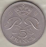 MONACO . 5 FRANCS 1974  RAINIER III - 1960-2001 Nouveaux Francs
