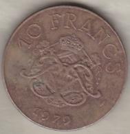 MONACO . 10 FRANCS 1979 RAINIER III - Monaco