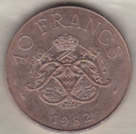 MONACO . 10 FRANCS 1982  RAINIER III - Monaco