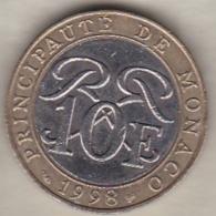 MONACO . 10 FRANCS 1998  RAINIER III - 1960-2001 Nouveaux Francs