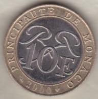 MONACO . 10 FRANCS 2000  RAINIER III - 1960-2001 Nouveaux Francs