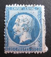 LOT R1494/164 - NAPOLEON III N°21 (sur Support) - GC 1303 : DIGNAC (Charente) ☛☛☛ INDICE 11 - 1862 Napoleon III