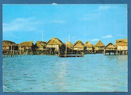 DAHOMEY CITE' LACUSTRE DE GANVIE COTONOU 1971 - Dahomey